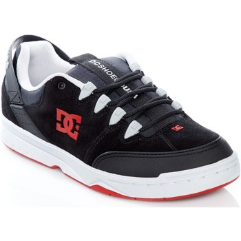 DC Shoes Black-Grey-Red Syntax Shoe men's Shoes (Trainers) in Black. Sizes available:8,10.5