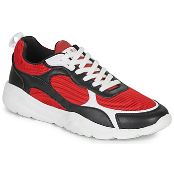 André MARATHON men's Shoes (Trainers) in Red. Sizes available:7.5,8,9