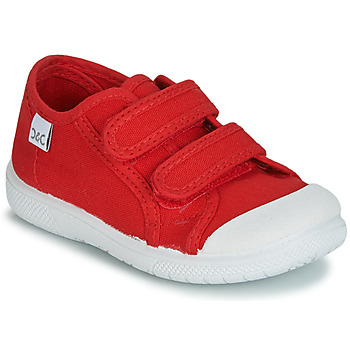 Citrouille et Compagnie JODIPADE girls's Children's Shoes (Trainers) in Red. Sizes available:4 toddler,4.5 toddler,5.5 toddler,6.5 toddler,7 toddler,8.5 toddler,9.5 toddler