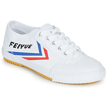 Feiyue FE LO 1920 men's Shoes (Trainers) in White. Sizes available:3.5,4 / 4.5,6 / 6.5,6.5 / 7,7 / 7.5,7.5 / 8,8 / 8.5,9.5 / 10,10.5 / 11